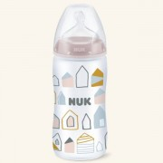 Nuk Biberon First Choice Silicona 6-18m, 360ml